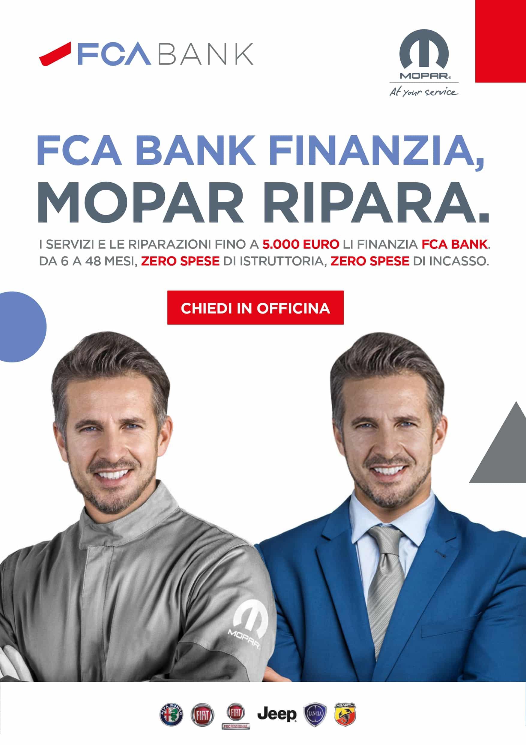 fca-org FCA BANK FINANZIA I SERVIZI MOPAR